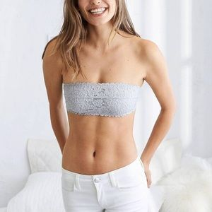 NWT Aerie Happy Unlined Bandeau Bra